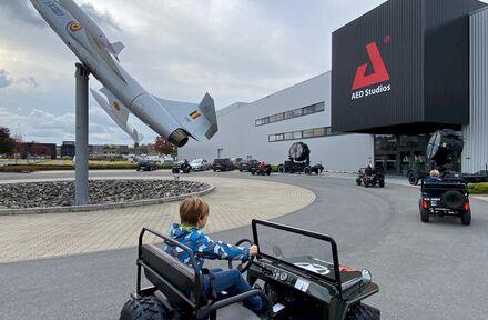 Junior Jeep Experience bij AED Studios - Foto 1