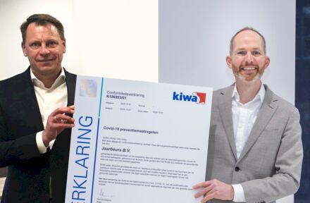 Jaarbeurs eerste eventlocatie met Kiwa COVID-19 keurmerk - Foto 1