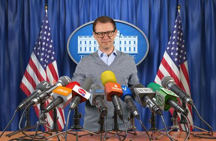 Poseer (5x) als president van de Verenigde Staten - Foto 1