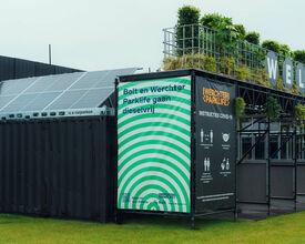 Invisible : le festival fonctionne entièrement à l'énergie verte