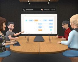 Le nouveau pari de Facebook sur la réalité virtuelle : les salles de conférence